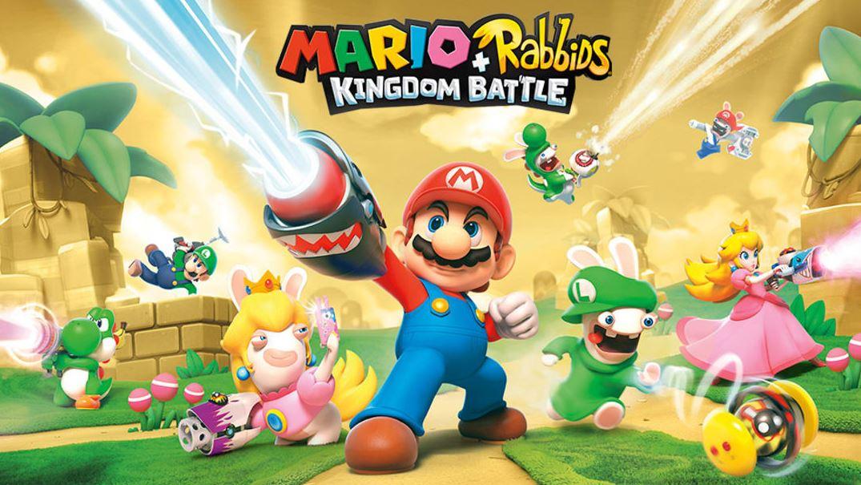 Mario + Rabbids Kingdom Battle Gold Edition (S) $19.99 via eShop.