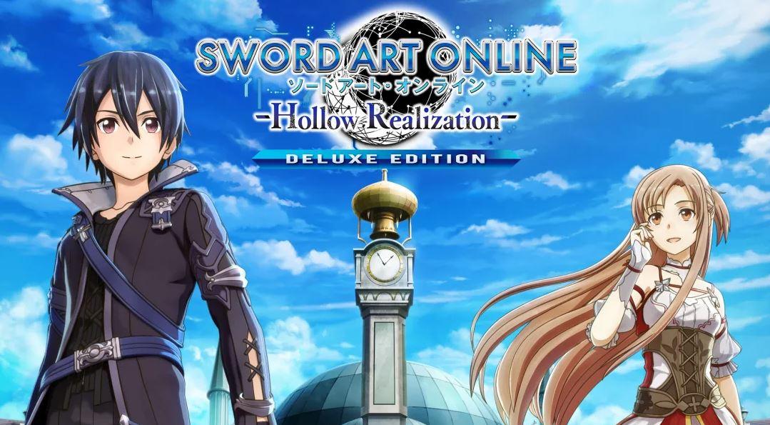 SWORD ART ONLINE: Hollow Realization Deluxe Edition (S) $7.49 via eShop.