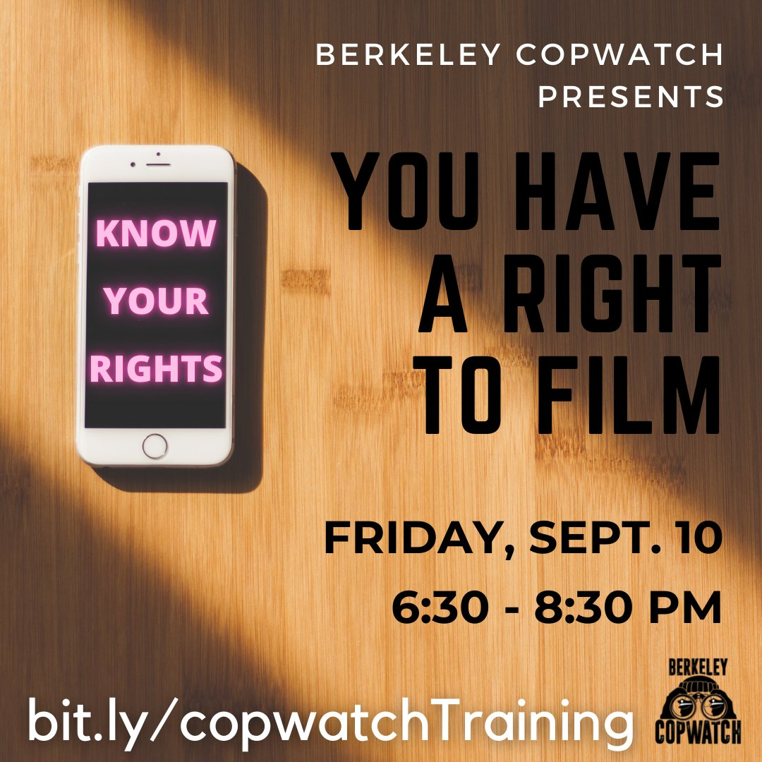 You Have a Right to Film @ Online
