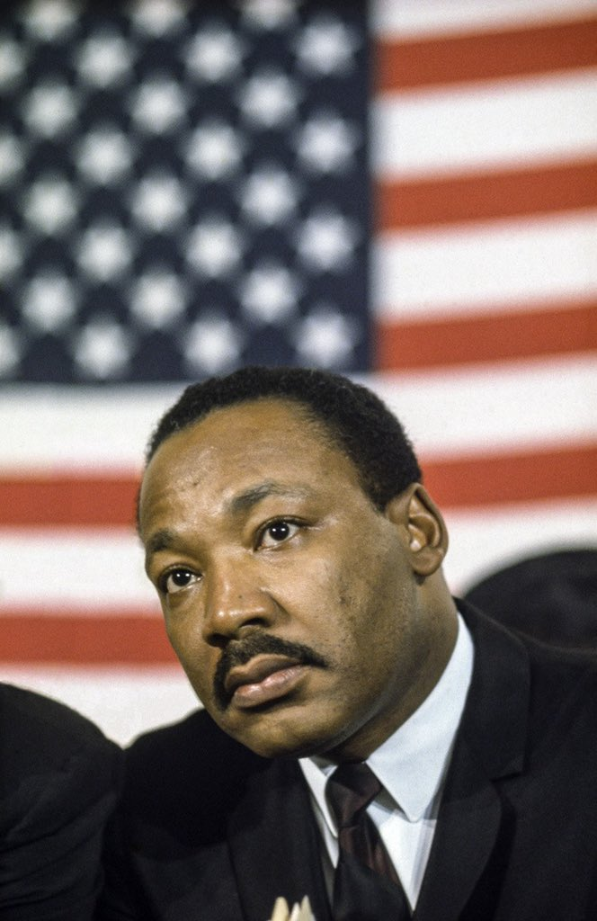"""""""I am disappointed with America. And there can be no great disappointment where there is not great love. I am disappointed with our failure to deal positively and forthrightly with the triple evils of racism, economic exploitation, and militarism."""""""