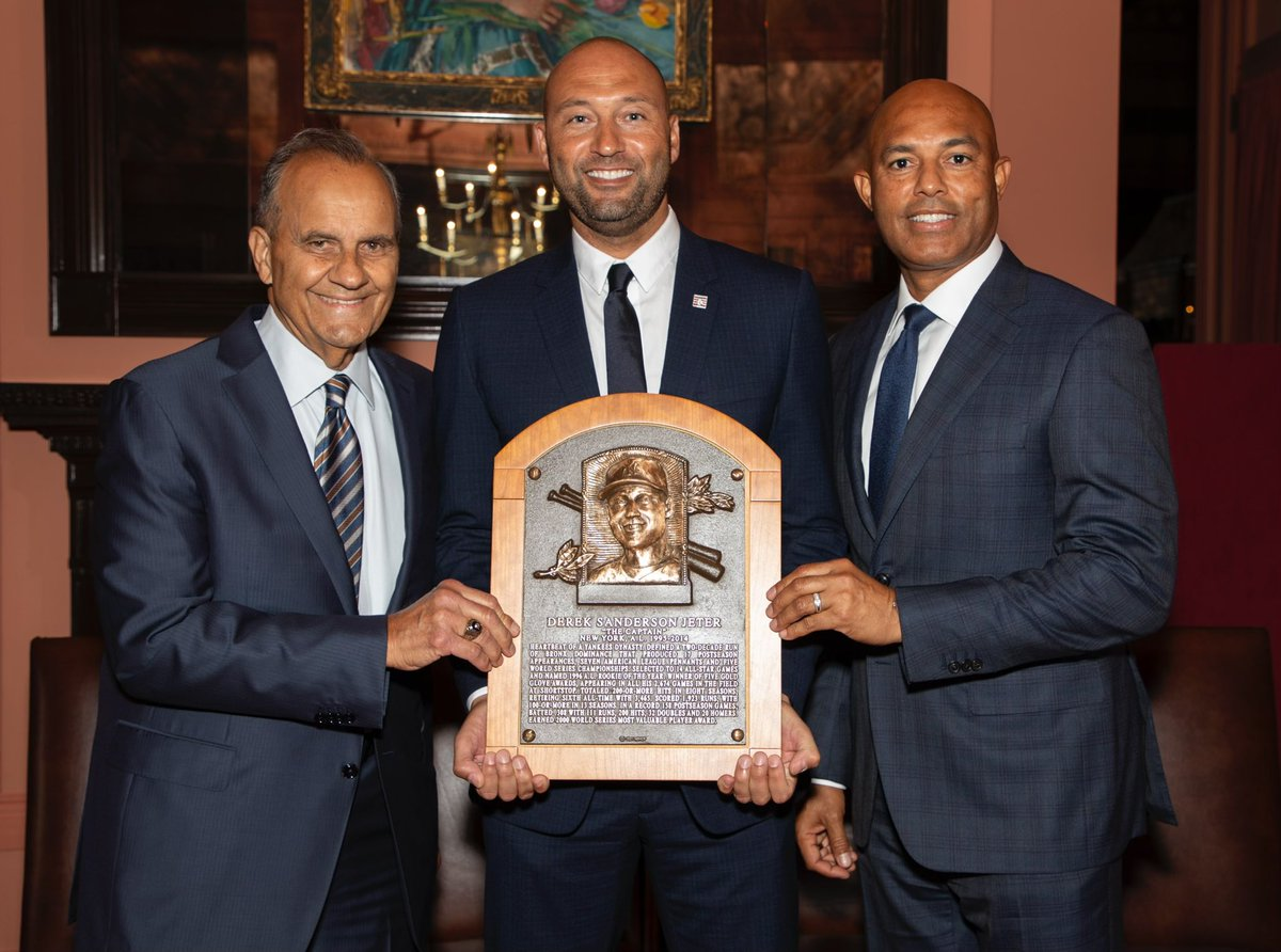 Very proud day for me in Cooperstown