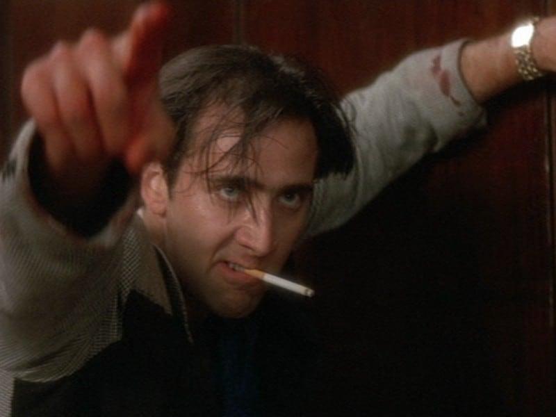 David Lynch's opening scenes