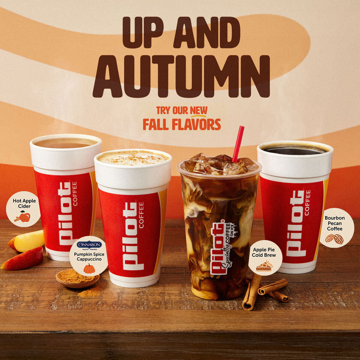 It's going to get cooler outside. But on the bright side, we've got some new fall flavors sure to make you smile. Which one are you trying first?