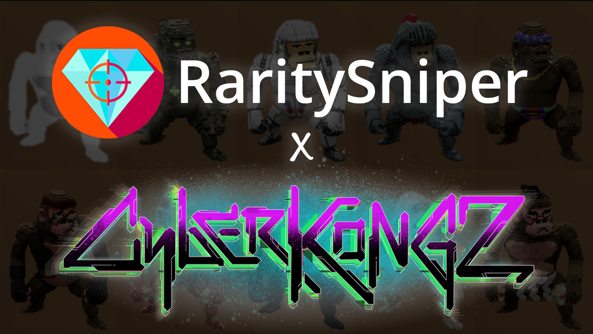 Giveaway! 🎉 OMG! We just reached 100k Discord members! 🤯 To celebrate, we are partnering up with @CyberKongz to give away not one, but THREE CyberKongz VX. To enter: 1. Follow @RaritySniperNFT 2. Follow @CyberKongz 3. Like, Retweet and Tag 3 friends Good luck!