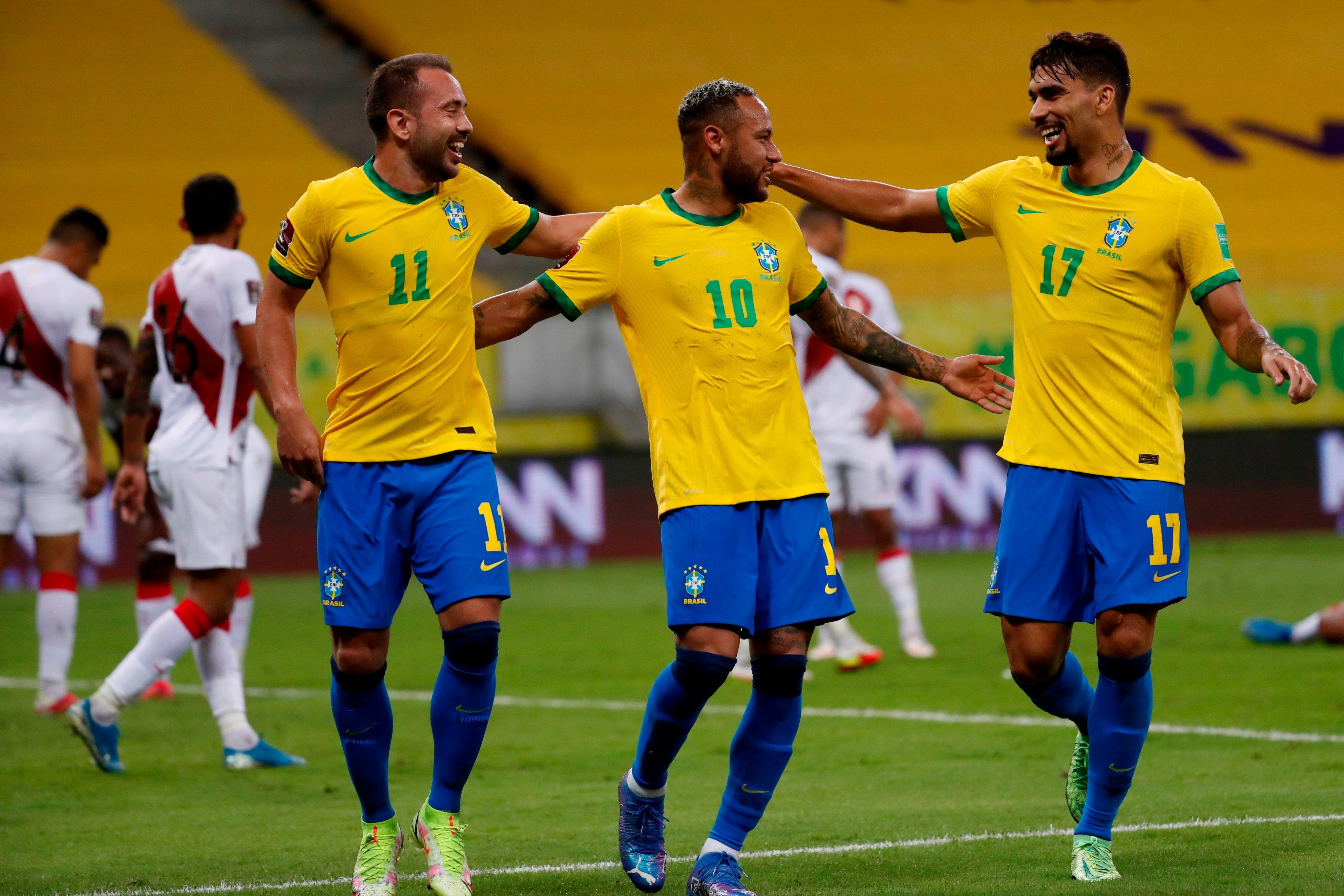 Brasil vs Perú 2-0 Jornada 9 Eliminatorias CONMEBOL 2022