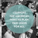 Image for the Tweet beginning: Paid leave is essential care