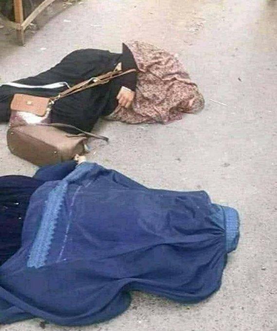Талибы пытаются завоевать сердца и умы своего народаение. Расстрелянные женщины Женщины провинции Бадахшан.