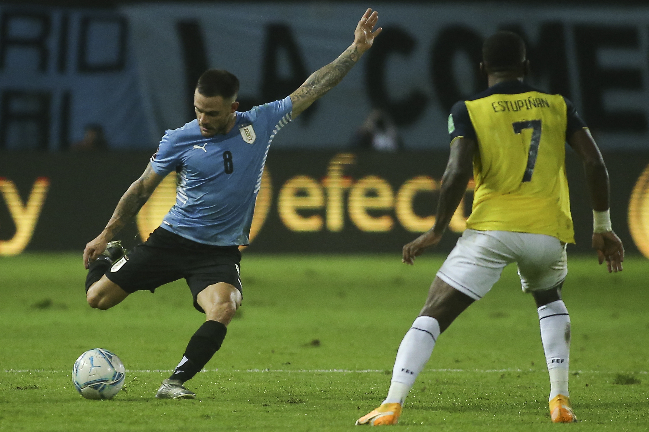 Uruguay vs Ecuador 1-0 Jornada 9 Eliminatorias CONMEBOL 2022