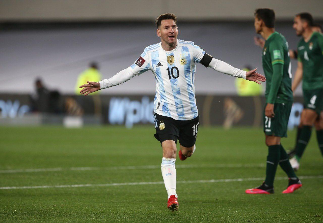 Argentina vs Bolivia 2-0 Jornada 9 Eliminatorias CONMEBOL 2022