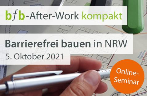 Die jüngsten Änderungen der BauO NRW sowie der VV TB NRW und die Konsequenzen für das barrierefreie Bauen in NRW kurz und knapp erklärt. Jetzt bei bfb After-Work kompakt am 5. Oktober um 18 Uhr. https://t.co/CczEsMl4jD https://t.co/7mXRu62hNd
