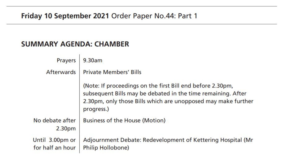 Find out what's on in the House of Commons today in the #OrderPaper: commonsbusiness.parliament.uk/document/50027… Follow the Chamber in real time: now.parliament.uk