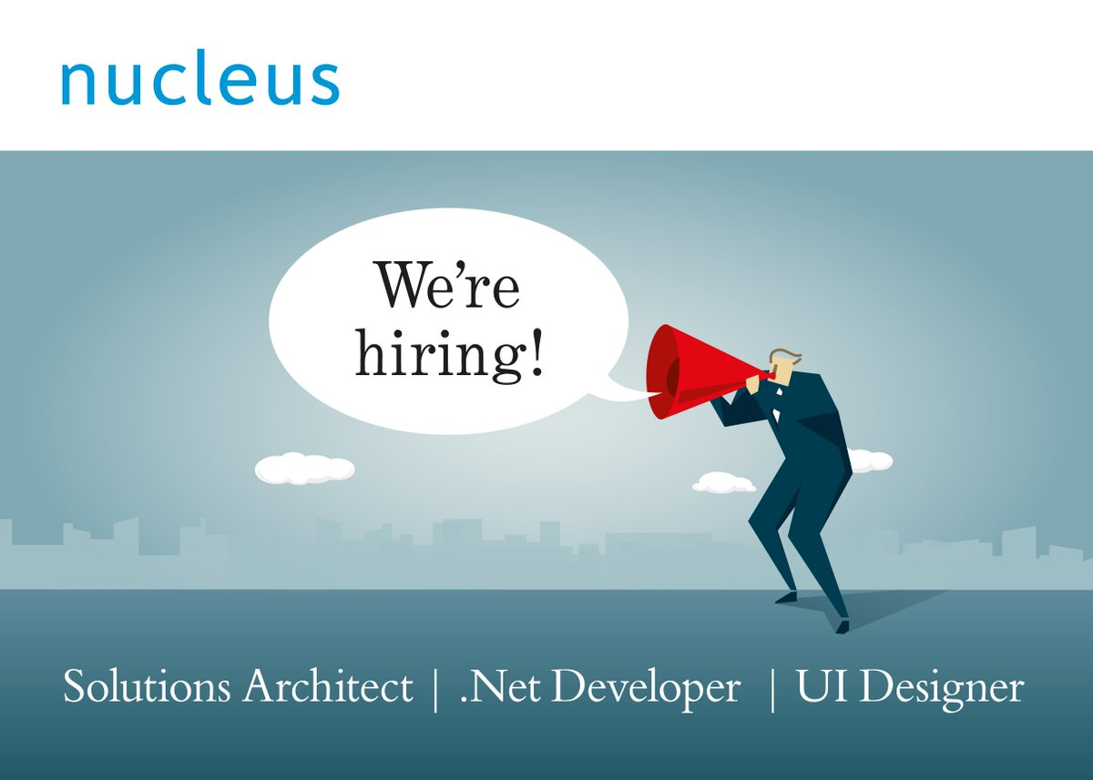 If you want to design or build some of the most beautiful websites and apps in the world - we're hiring designers, .Net developers and a brilliant technical architect: https://t.co/6SLsMtYTOv #hiring #designers #developers https://t.co/joS7McP1Gf