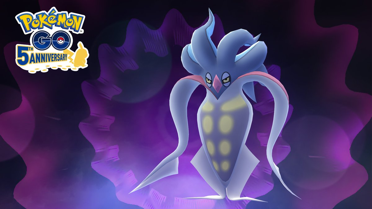 Oh, what's this? 🙃 Why, hello there, Malamar! 👋😰 Welcome to Pokémon GO!