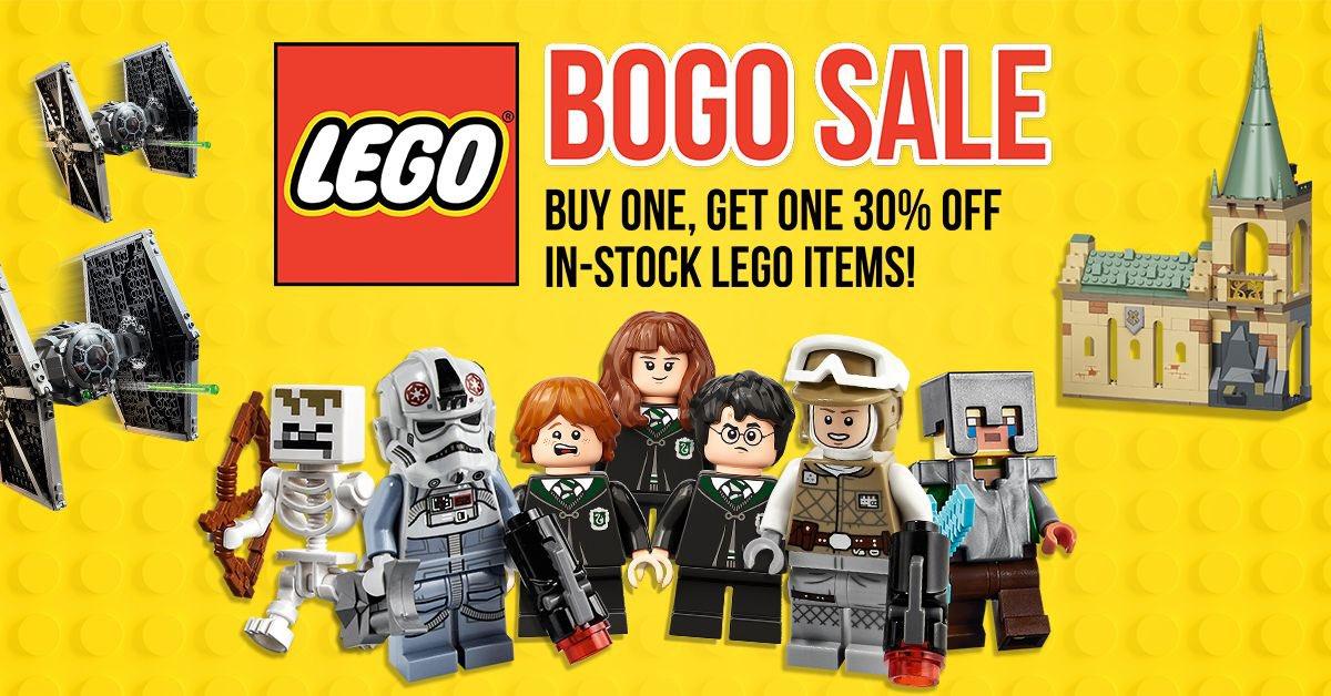 Lego fans, BOGO sale over at EE. Get 30% off ~ Linky ~