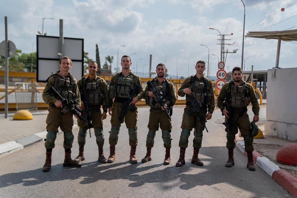 نهاية أسبوع هادئة للجميع من جنود جيش الدفاع بالأخص وحدات جولاني كفير ناحال و