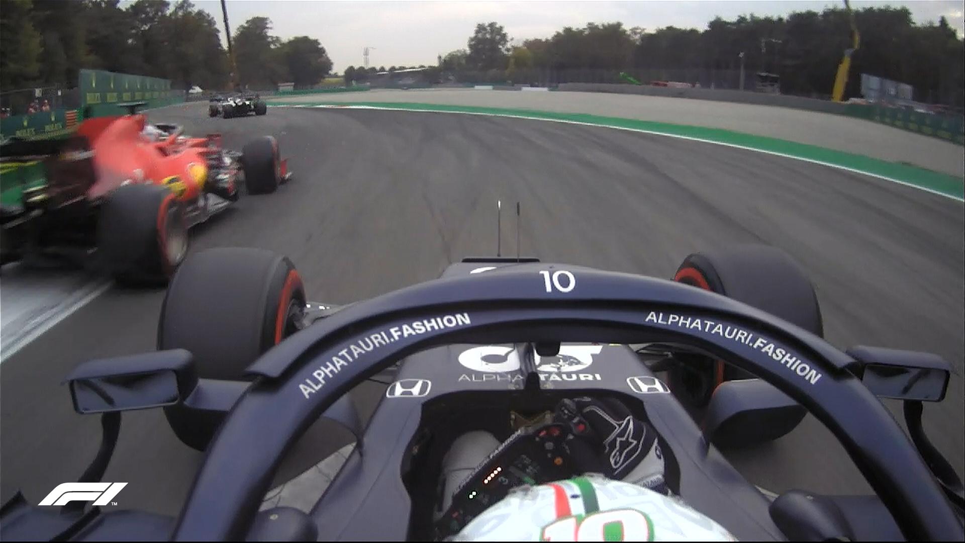 Pierre Gasly przyblokowany podczas kwalifikacji przed Grand Prix Włoch