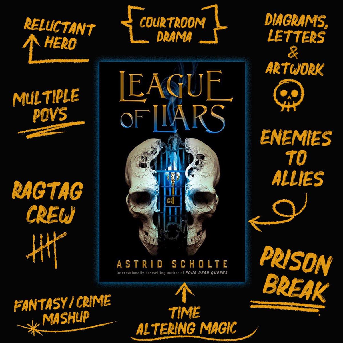 Astrid 💀te   League of Liars 💀🗝 Feb 20, 2020 AstridScholte ...