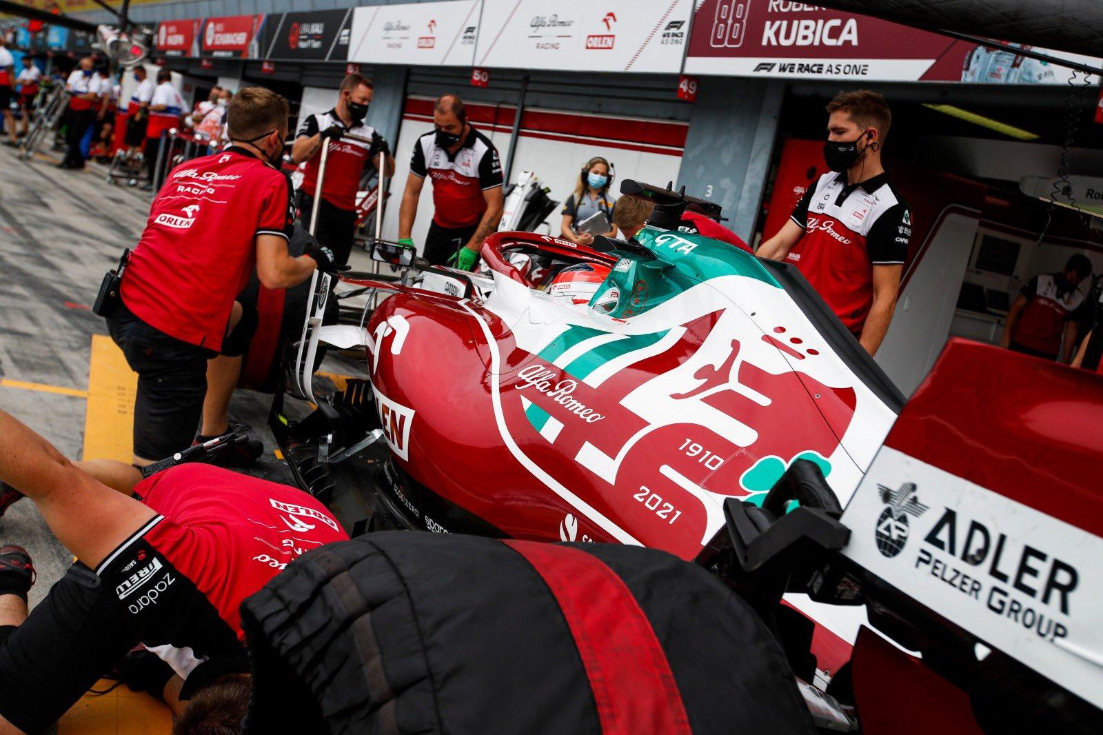 Polak podczas Grand Prix Włoch