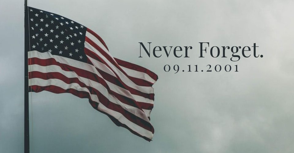 Never Forget 09•11•2001