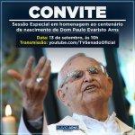 Image for the Tweet beginning: O @SenadoFederal promove, nesta segunda-feira