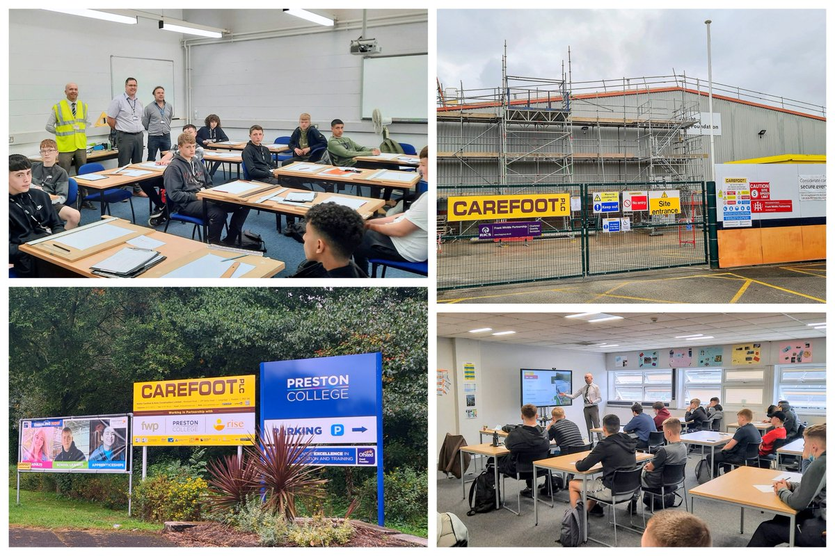 Great to see #Lancashire #SkillsPledge member @CarefootPlc supporting Apprenticeships & T Level Industrial Placements 👏👏 - a great way to attract talent & build your future workforce - get involved! https://t.co/SV6PvjvuvX #InspiringLancashire @lancslep