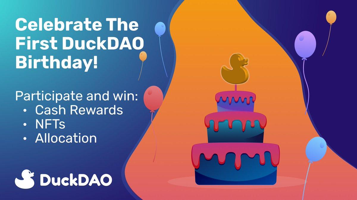 Happy Birthday Bos #DuckDAO #CryptoBirthday