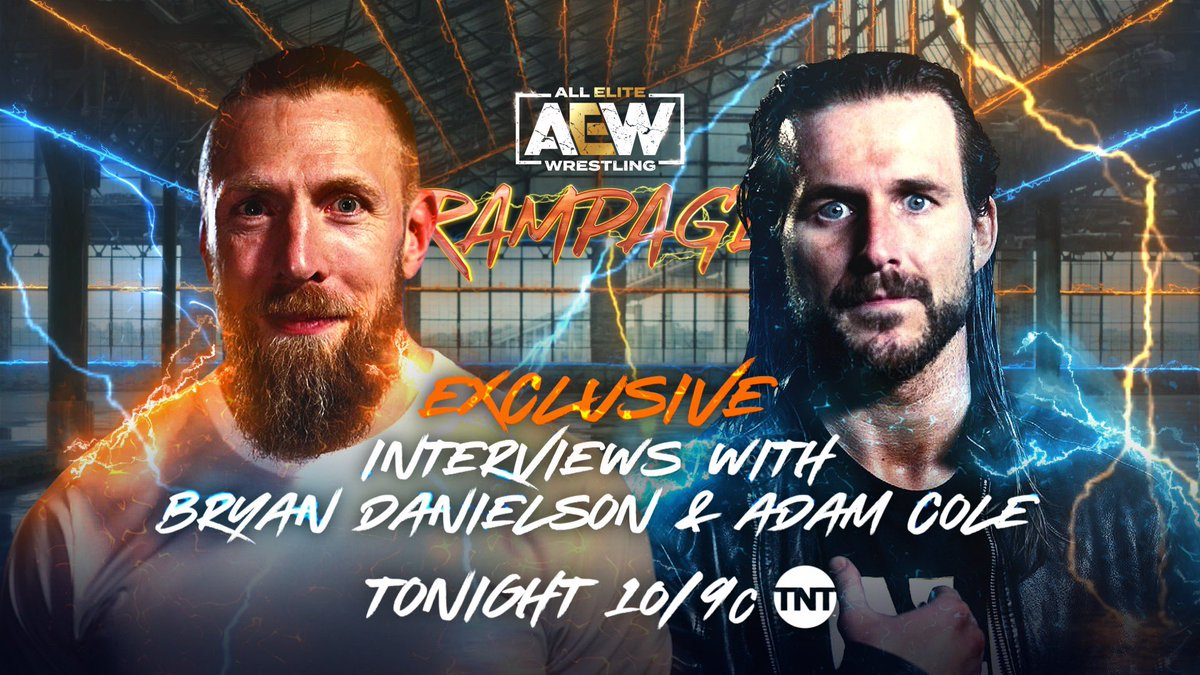 Adam Cole And Bryan Danielson Added To Tonight's AEW Rampage Line-Up