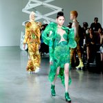 Image for the Tweet beginning: New York Fashion Week: threeASFOUR