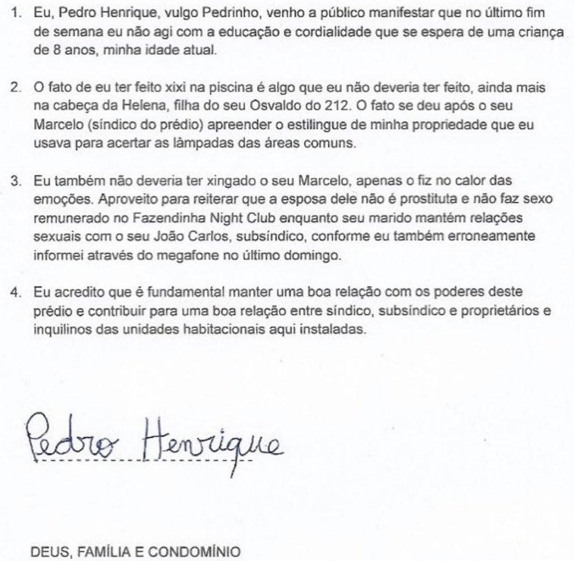 Henrique Twitter