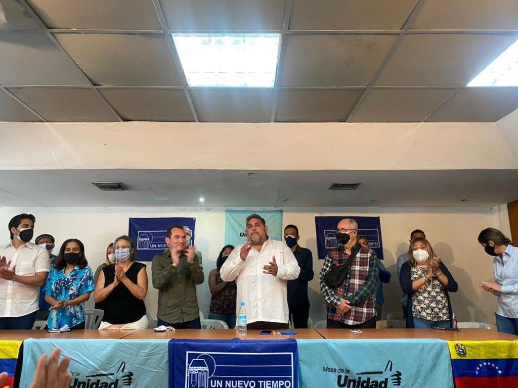 Tomás Guanipa es el candidato por la MUD para la Alcaldía de Caracas