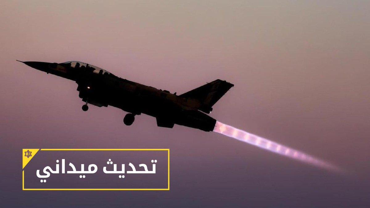 ردًا على اطلاق القذيفة الصاروخية من غزة طائرات ومروحيات إسرائيلية تغير على مواقع لحماس