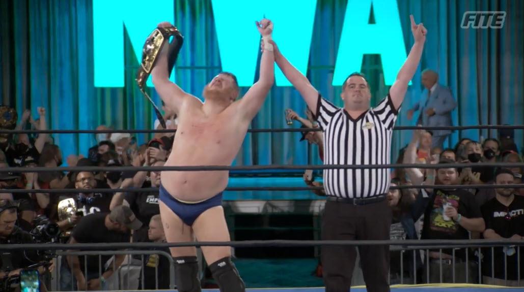 Trevor Murdoch Wins NWA World Heavyweight Title