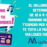 Image for the Tweet beginning: El pròxim dilluns torna el