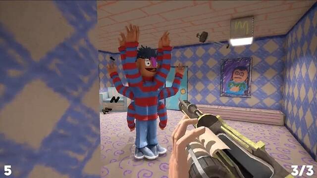 開発中のホラーゲームで?敵が無限増殖しプレイヤーを襲うバグが発生してしまう!