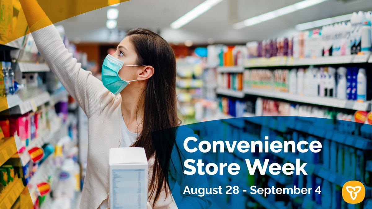 This week we celebrate Ontario's 8,500 convenience stores! Their hardworking & dedicated staff across the province have shined bright throughout the COVID-19 pandemic. These stores are vital to our communities. Happy Convenience Store Week! #Convenienceweek @OntarioCStores