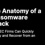 Image for the Tweet beginning: With ransomware attacks happening more
