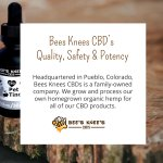 Headquartered in Pueblo, Colorado, Bees Knees CBDs is a family-owned company. We grow and process our own homegrown organic hemp for our products. #cannabidiolextract #cannabidioloil #hempoilextract #cbdoil https://t.co/g0NiD41hwd