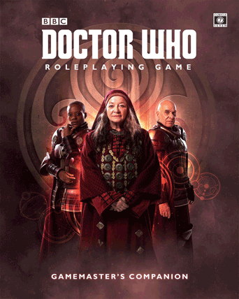 The Doctor Who RPG Bundle of holding Ends Today!