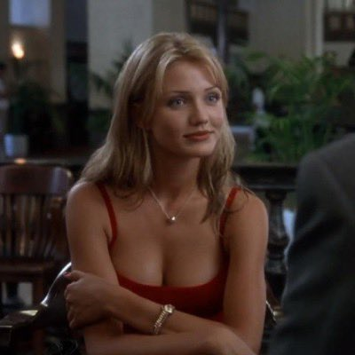 """Happy 49th Birthday wishes go out to actress Cameron Diaz! Here\s a photo from her first film \""""The Mask\"""" (1994)"""
