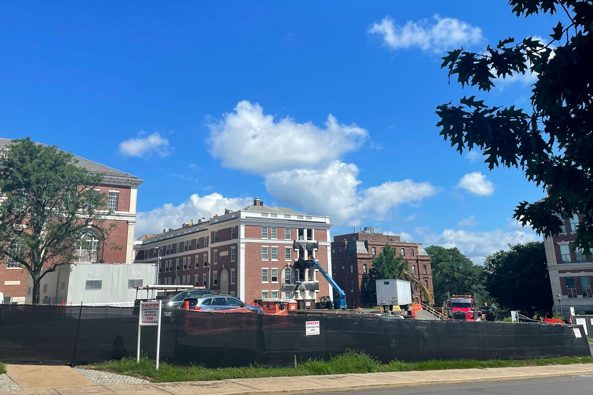 test Twitter Media - There's been a couple of changes on campus lately - the largest being the PAC renovation and expansion. The project involves a complete remodel of the current PAC building with a new, 3-story brick structure built atop the former plaza site. We are excited to watch the progress! https://t.co/ntR58HB4Vs