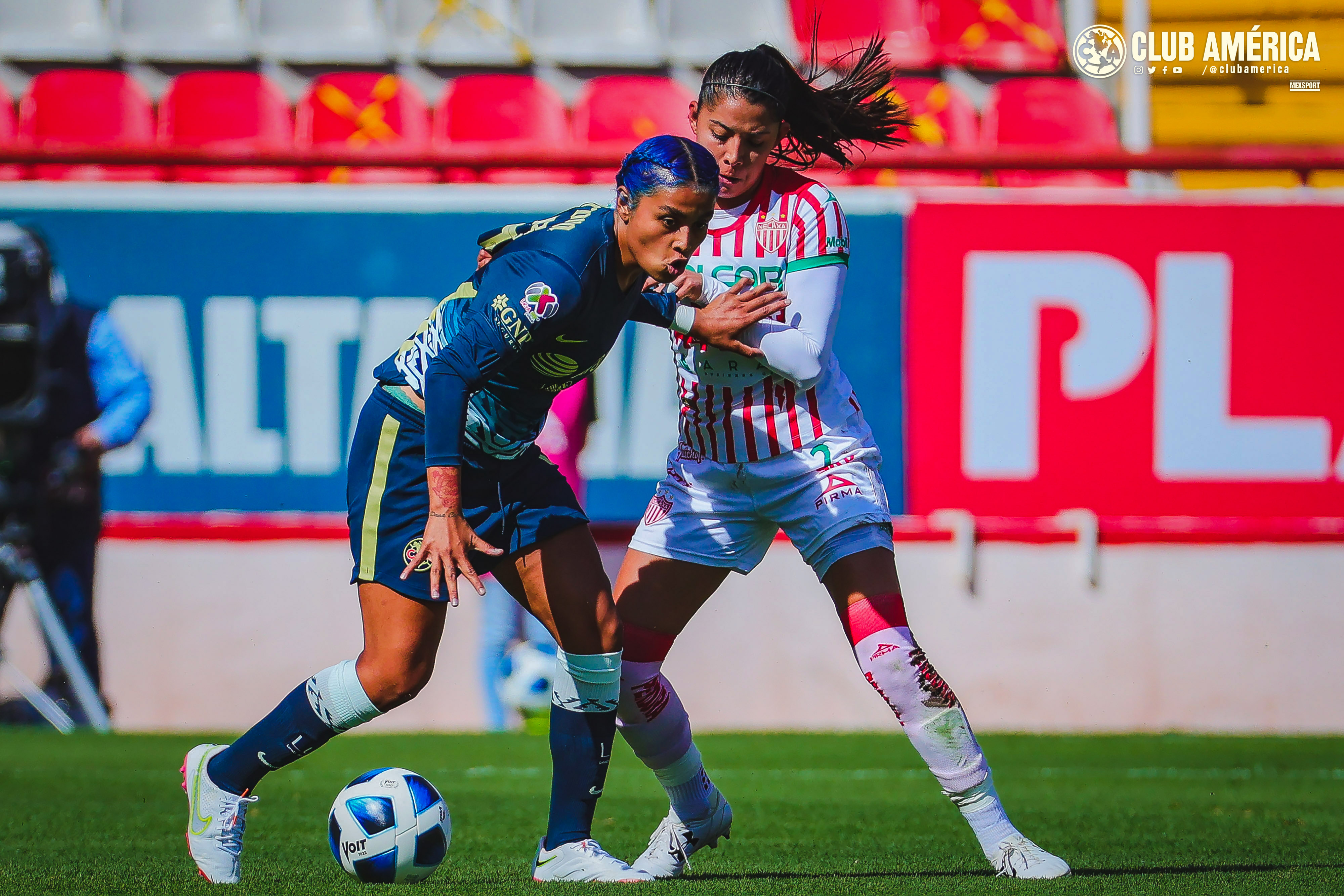 Necaxa vs América 0-2 Liga MX Femenil Apertura 2021