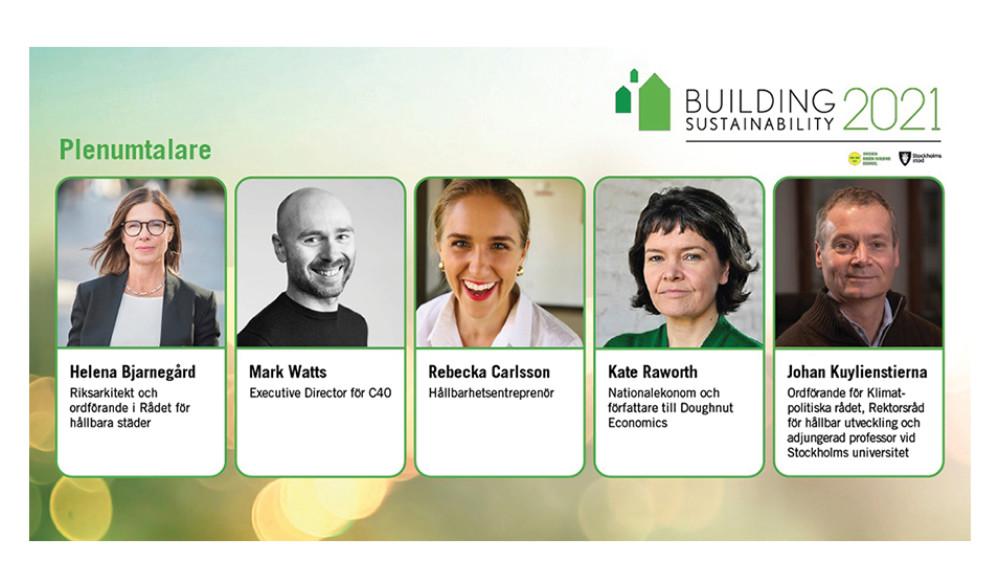 Building Sustainability – lyssna till världens främsta talare inom hållbart samhällsbyggande – 30 nov till 1 dec https://t.co/48ShKJPUt9 https://t.co/0hu9amMp9t