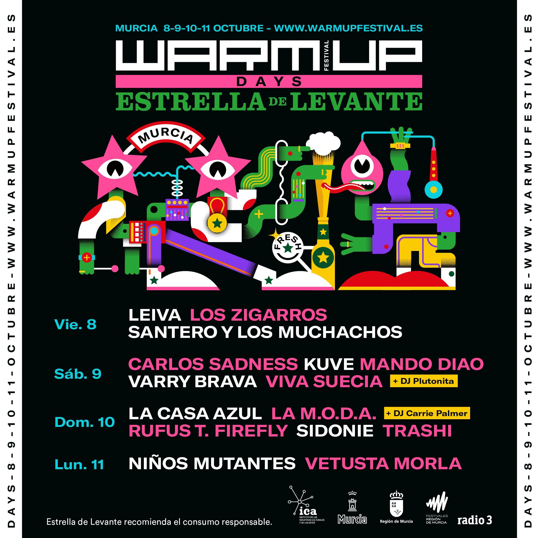 Festival WARM UP de Murcia (Kraftwerk, Hot Chip, Modeselektor, Johnny Marr...) E-G776XWUAAcgJA?format=jpg&name=4096x4096
