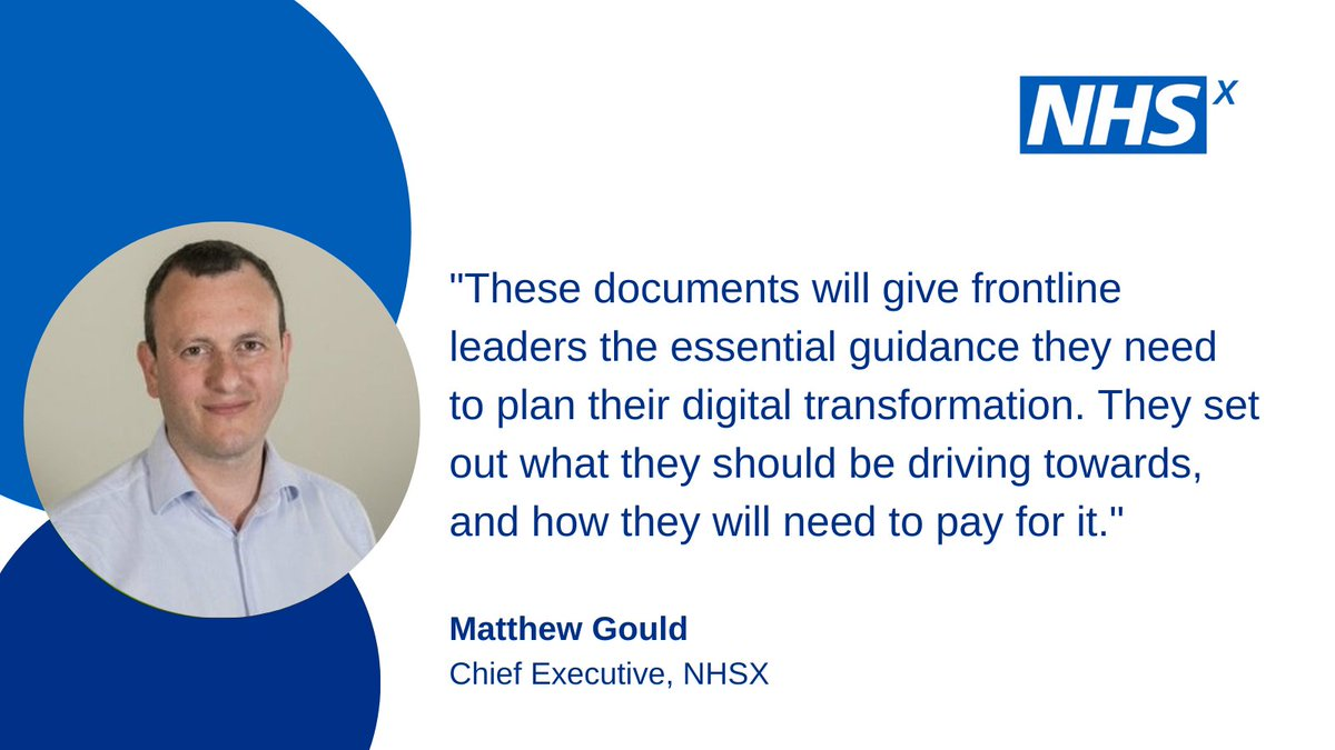 Today we've published new guidelines for digitised healthcare. nhsx.nhs.uk/digitise-conne… #DigitiseConnectTransform (Thread 1/4)