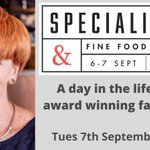Image for the Tweet beginning: It's the @SpecialityFair NEXT WEEK!  We're