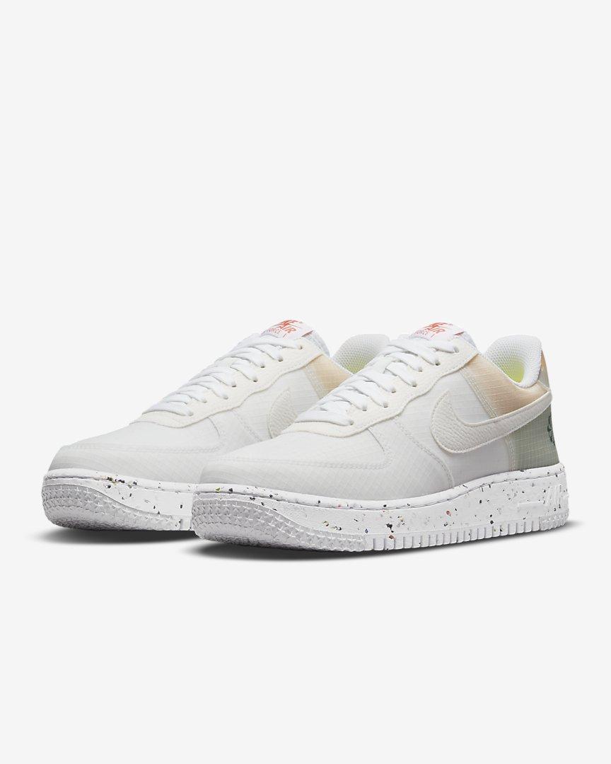 UNDER RETAIL Nike Air Force 1 Crater 'White/Orange' =    $10 off w/ code FUNINTHESUN