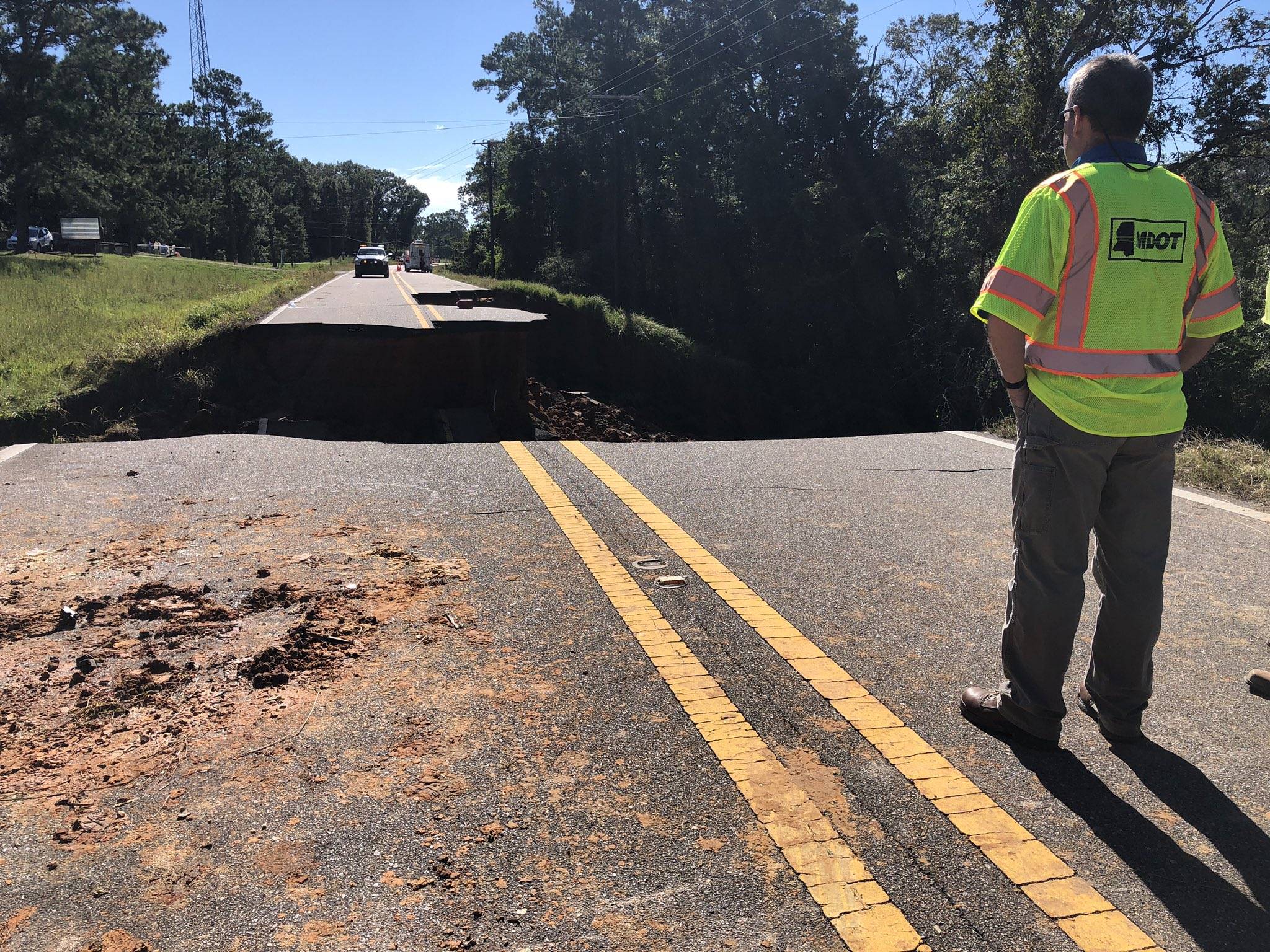 Two People Dead, 10 Injured After Mississippi Highway Collapses