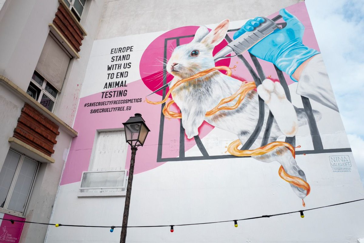 A great partnership for a great cause, @Dove and @TheBodyShopUK partner to protect ban on #animaltesting in #cosmetics 💚