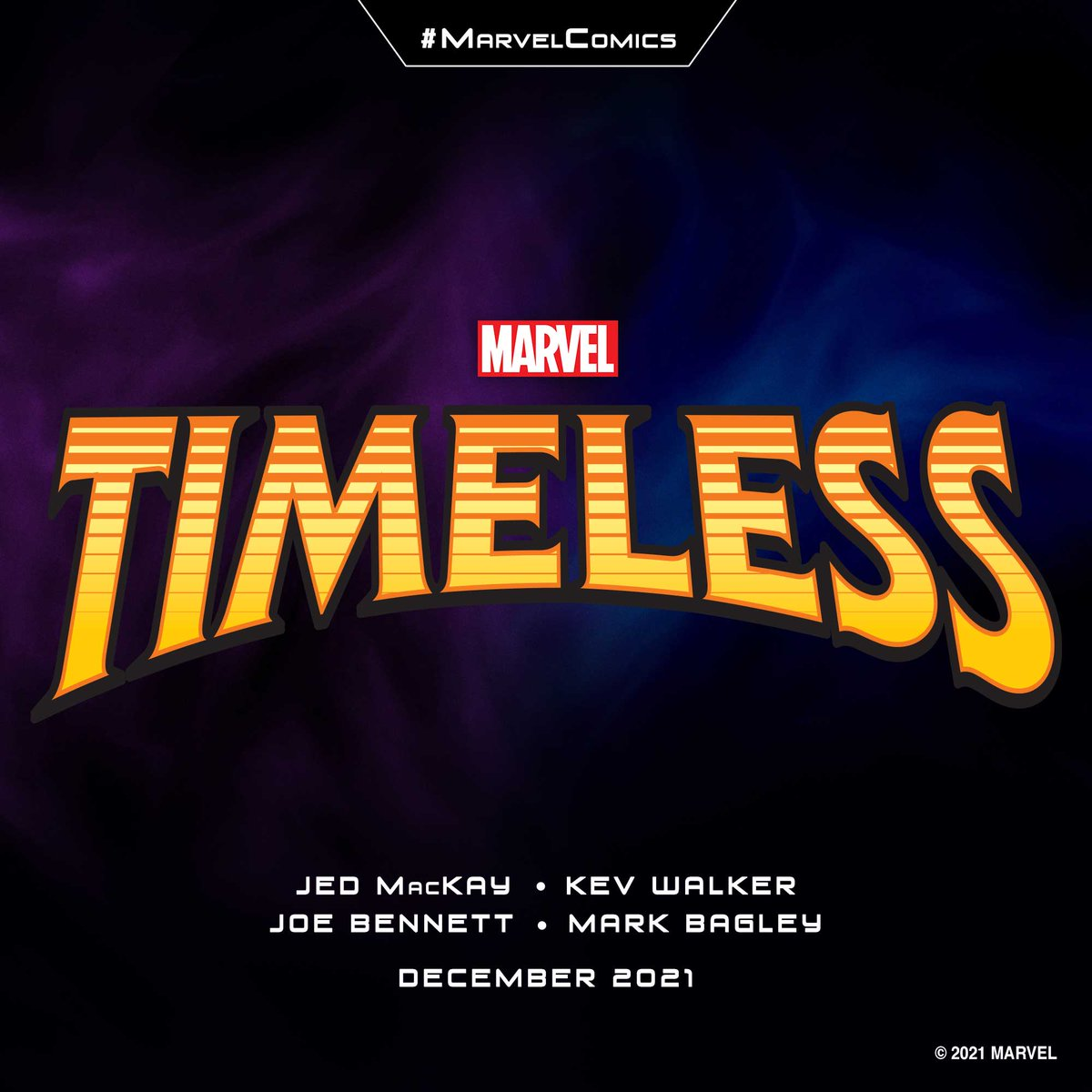 """Marvel Entertainment on Twitter: """"The future of the Marvel Universe is  here, and 'Timeless' is where it all begins. @jedmackay, Kev Walker, Joe  Bennett, Mark Bagley, and more help Kang set the"""