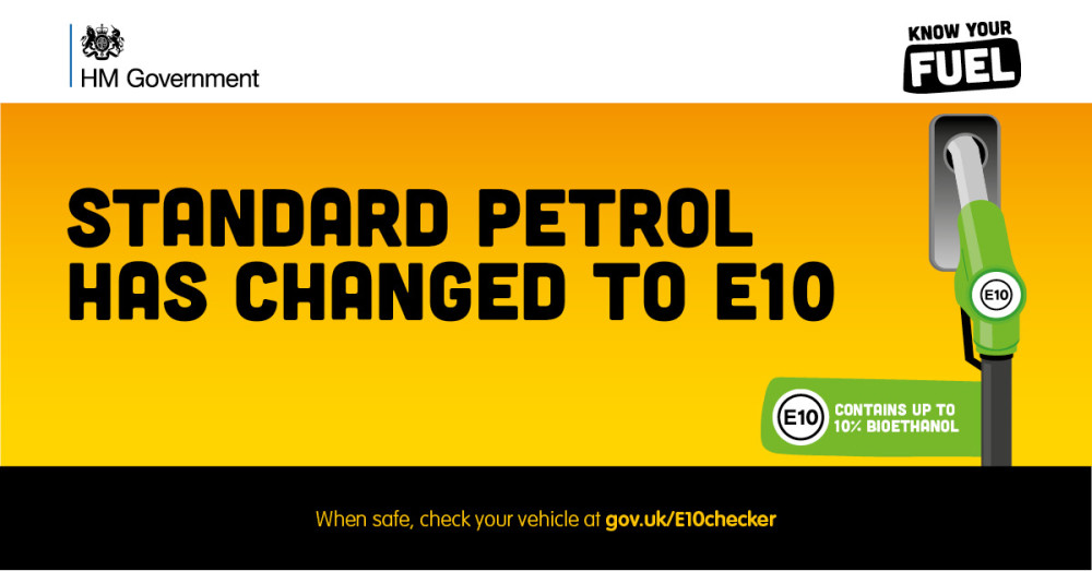 One-in-four drivers still in the dark about new #E10 petrol being introduced this month - urgent need to use online checker https://t.co/x8JtbuLLl7 https://t.co/TBcNpUA97L